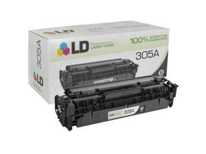 LD © Remanufactured Replacement for Hewlett Packard CE410A (HP 305A) Black Toner Cartridge for HP LaserJet Pro 300 Color ...