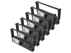 LD © Compatible Replacements for Epson ERC-32P Set of 6 Purple POS Ribbon Cartridges for use in Epson M, TM, Casio, and Panasonic JS Series Printers