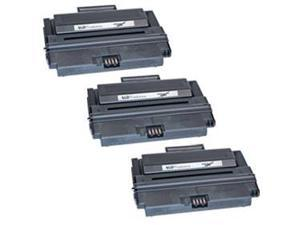 LD © Compatible Set of 3 Toner Replacements for the Dell 2335dn 330-2209 (NX994) High Yield Black Toner Cartridge by LD Products