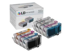 LD © Canon Compatible CLI-42 Set of 8 Ink Cartridges for the PIXMA PRO-100