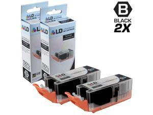 LD © Compatible Replacements for Canon 8050B001 PGI-255XXL / PGI-255 2PK Extra HY Black Inkjet Cartridges for use in Canon PIXMA iX6820, MX722, and MX922 Printers