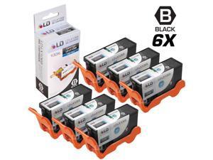 LD © Compatible Lexmark 100XL / 100 14N1068 Set of 6 High Yield Black Inkjet Cartridges