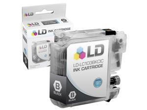 LD © Brother Compatible LC103BK High Yield Black Ink Cartridge  for the MFC J245, J285DW, J450DW, J470DW, J475DW, J650DW, ...