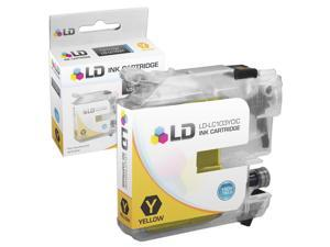 LD © Brother Compatible LC103Y High Yield Yellow Ink Cartridge  for the MFC J245, J285DW, J450DW, J470DW, J475DW, J650DW, ...