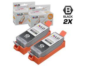 LD © Compatible Canon PGI-35 Set of 2 Black Inkjet Cartridges for the IP100 Printer