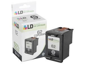 LD © Remanufactured Replacement for Hewlett Packard C2P04AN / HP 62 Black Inkjet Cartridge for use in HP ENVY 5640, 5642, 5643, 5644, 5646, 5660, 7640, 7645, OfficeJet 5740, 5742, & 5745