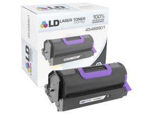 LD © Compatible Okidata 45488801 Black Toner Cartridge for OKI B721dn, B731dn