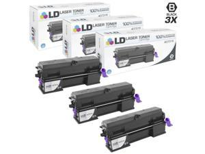 LD © Compatible Ricoh 407316 Set of 3 Extra High Yield Black Toner Cartridges for MP 401SPF