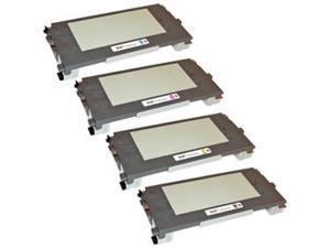 LD © 4 Lexmark C500/X500 Compatible toners 1(Bk,C,M,Y)