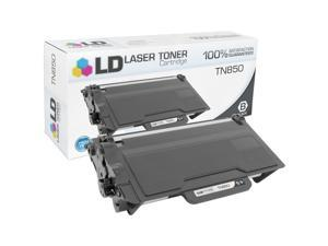LD © Compatible Brother TN850 High Yield Black Toner Cartridge for Brother DCP, HL, and MFC Multifunction Printers