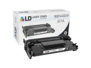 LD © Compatible Replacement for Hewlett Packard CF287A HP 87A Black Laser Toner Cartridge for use in the LaserJet Enterprise Flow MFP M630dn, MFP M630z, MFP 630f & MFP 630h Printers