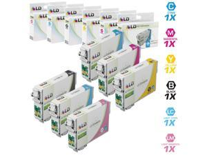 LD Remanufactured Replacements for Epson T098/T099 6 pack HY Ink Cartridges Includes:1 Black T098120, 1 Cyan T099220, 1 Magenta ...