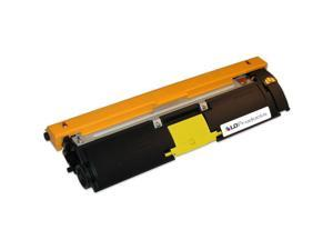 LD © Compatible Konica-Minolta A00W162 Yellow Laser Toner Cartridge for the Bizhub C10