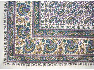 "Turkish Print Floral Paisley Tapestry Cotton Bedspread 106"" x 88"" Full-Queen Multi Color"