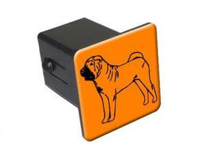 "Shar Pei - Dog - 2"" Tow Trailer Hitch Cover Plug Insert"