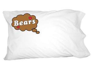 Dreaming of Bears - Brown Novelty Bedding Pillowcase Pillow Case