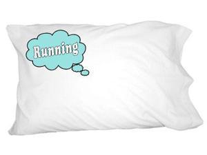 Dreaming of Running - Blue Novelty Bedding Pillowcase Pillow Case