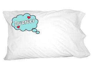 Dreaming of Dwarves - Blue Novelty Bedding Pillowcase Pillow Case