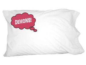 Dreaming of Demons - Red Novelty Bedding Pillowcase Pillow Case
