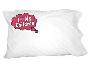 I Love My Children - Red Novelty Bedding Pillowcase Pillow Case