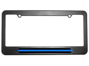 Thin Blue Line - Police License Plate Tag Frame