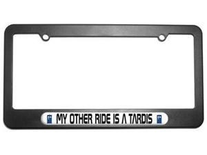 My Other Ride Is A Tardis - Doctor Who License Plate Tag Frame