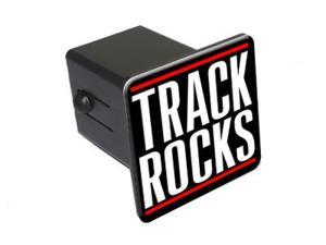"Track Rocks - 2"" Tow Trailer Hitch Cover Plug Insert"