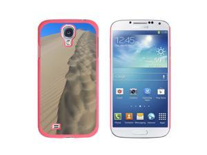 Desert Sand Dune - Snap On Hard Protective Case for Samsung Galaxy S4 - Pink