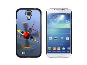 World War 2 II Fighter Plane Aircraft - Snap On Hard Protective Case for Samsung Galaxy S4 - Black