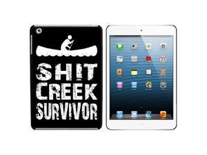 Sh*t Creek Survivor Snap On Hard Protective Case for Apple iPad Mini - Black - OEM