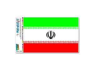 Iran Flag MAG-NEATO'S™ Automotive Car Refrigerator Locker Vinyl Magnet
