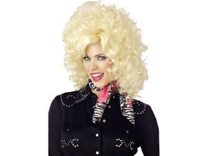 Country Western Blonde Wig