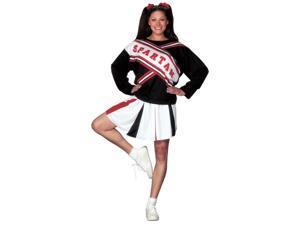Cheerleader Spartan Girl Costume