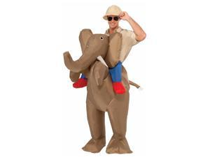 Inflatable Rider Elephant Men Costume