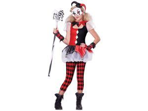 Dark Jester Teen Costume