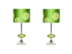 "Casa Cortes Costa Verde 19"" Table Lamp - Set of 2"