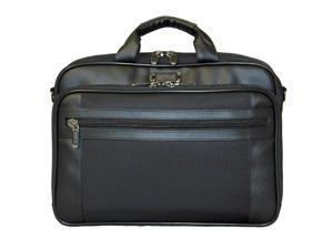 Kenneth Cole Reaction R-Tech Laptop Computer Briefcase - Black