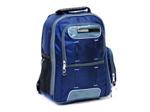 CalPak Orbit Deluxe Laptop Computer Backpack Case - Navy Blue