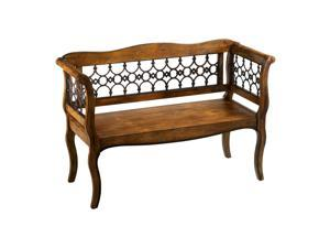 Cyan Design Wood and Iron Jordan Bench - Byzantine Oxide