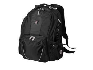 "SwissGear 15"" Laptop Computer Daypack Backpack - Black"