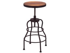 Urban Designs Vintage Seville Adjustable Metal Barstool