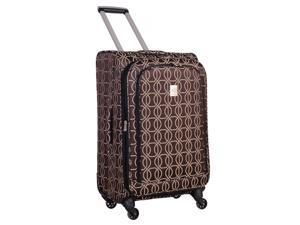 Jenni Chan Links 360 Quattro Collection Spinner 21-Inch Upright Suitcase - Brown