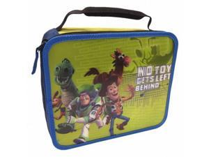 Disney Toy Story 3D Soft Lunch Box Insulated Bag Buzz Woody Dino 3-D Lunchbox