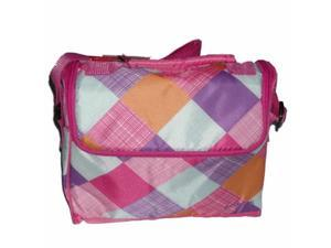 Embark Pink Plaid Soft Lunch Box Insulated Lunch Bag Lunchbox