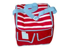 Red White & Blue Stripe Insulated Cooler 30 Can Capacity