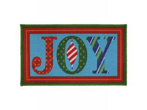 Martha Stewart Living Holiday Joy Accent Rug Non Skid Christmas Mat 18x30