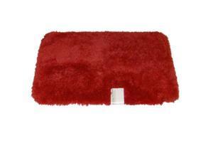 Envision Orange Coral Throw Rug No-Skid Accent Bath Mat 21x34