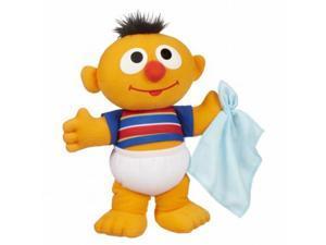 Playskool Sesame Street Baby Sniffles Ernie Plush Stuffed Animal Has A Cold