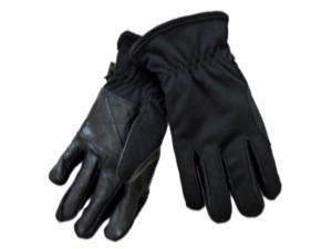Northcrest Mens Stretchy Black Spandex Snow Gloves with Thermosoft Insulation
