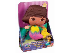 Fisher Price Huggable Dora The Explorer Splash Mermaid Doll Bathtime Friend